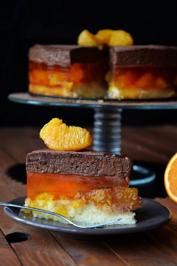 Ciasto Delicja Pomaranczowa